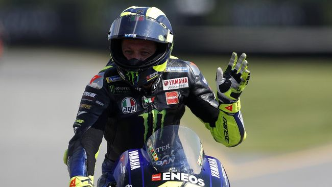Valentino Rossi pisah dari Yamaha
