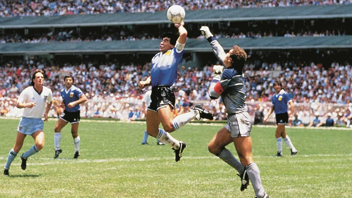 gol legenda Diego Maradona