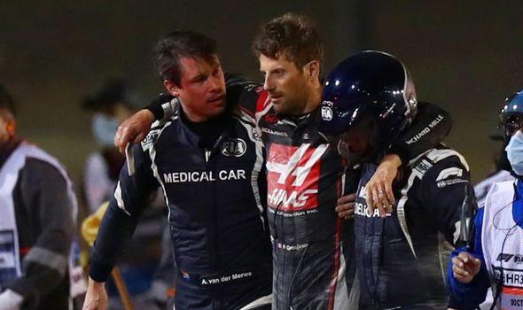 kondisi Romain Grosjean
