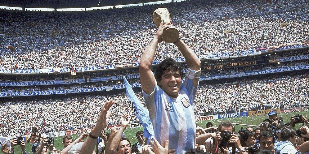 legenda Diego Maradona