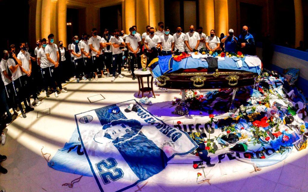 pemakaman maradona