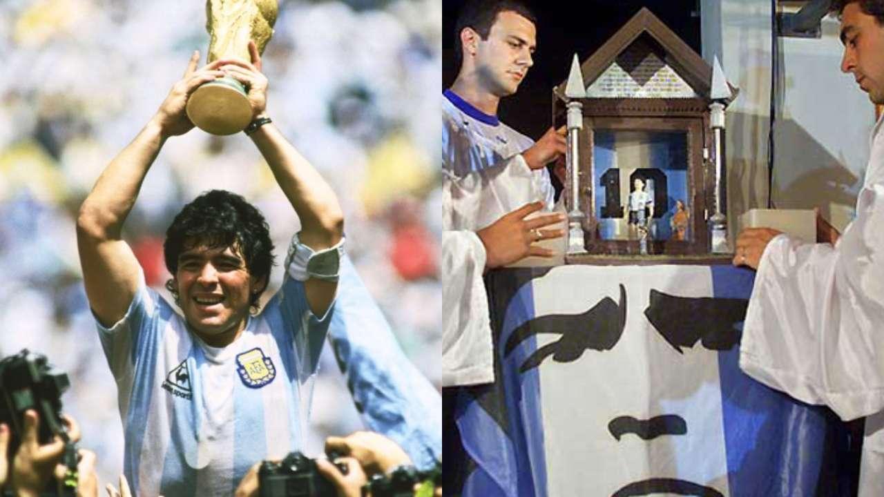 pendukung doakan ksembuhan Diego Maradona