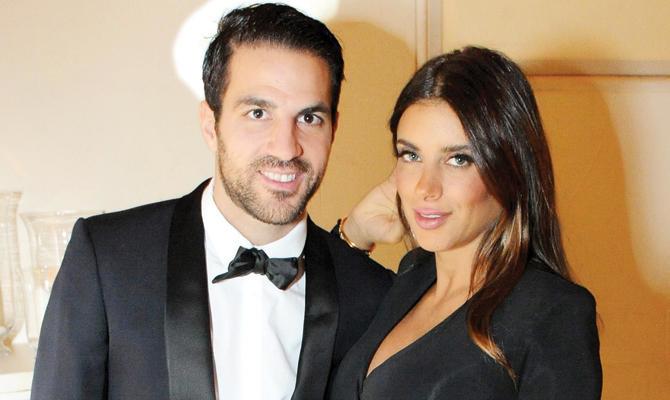 Cesc Fabregas dan Daniela Semaan