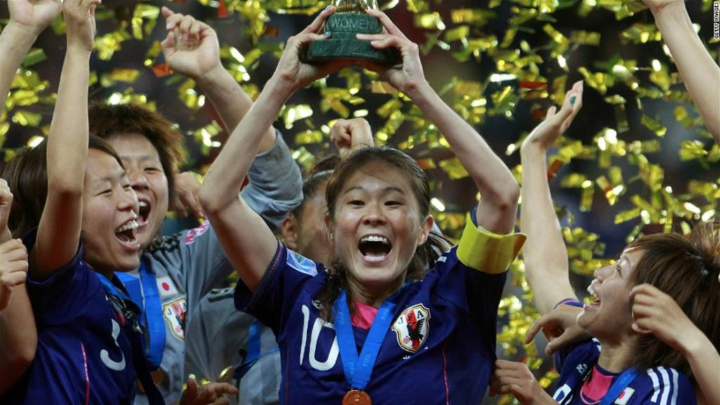 pesepakbola wanita dunia