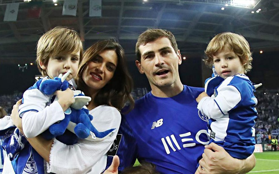Iker Casillas dan istri