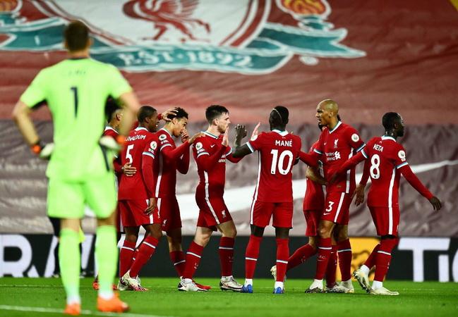 Liverpool di Liga Champions 2020-2021