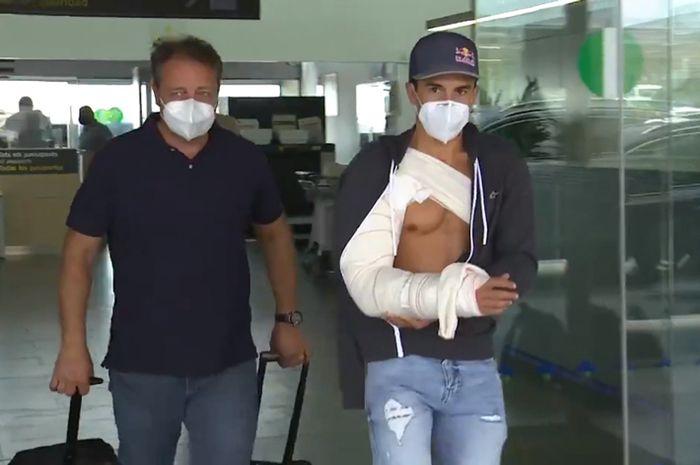 Marc Marquez jalani operasi ketiga kalinya