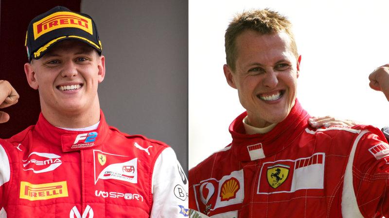 Mick Schumacher dan Michael Schumacher