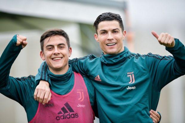 Paulo Dybala dan Ronaldo
