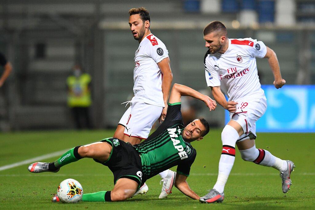 Laga Sassuolo vs AC Milan - Serie A