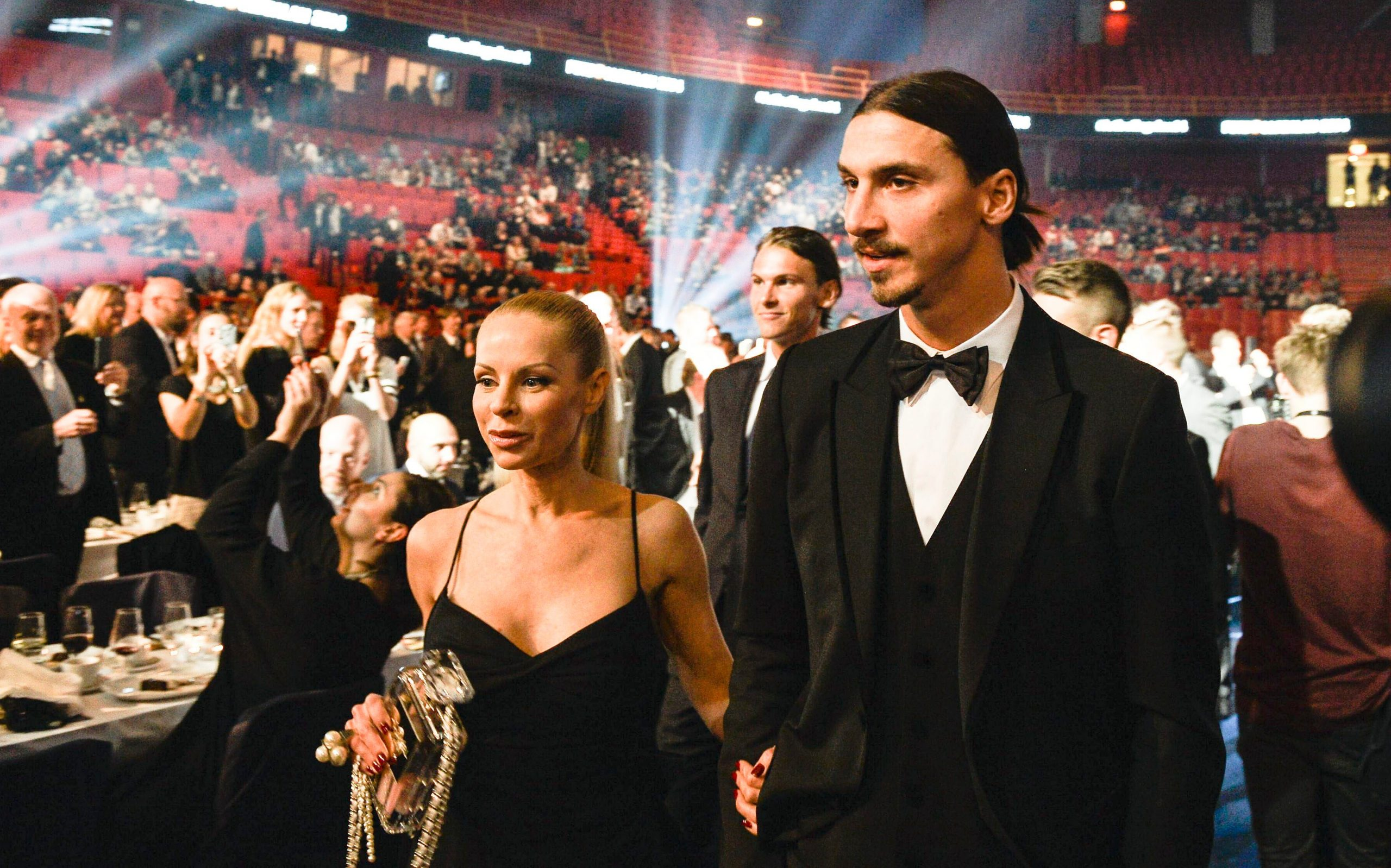 Zlatan Ibrahimovic dan Helena Seger