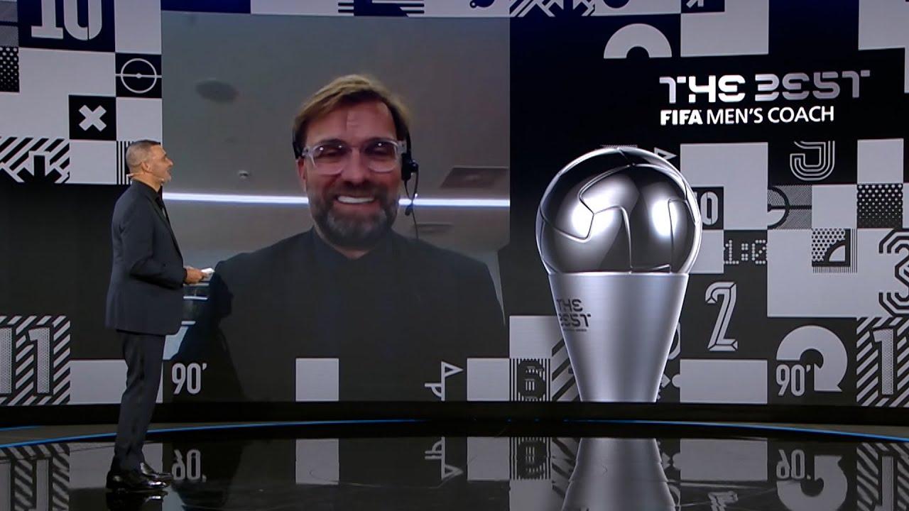 juergen klopp jadi pelatih terbaik FIFA 2020