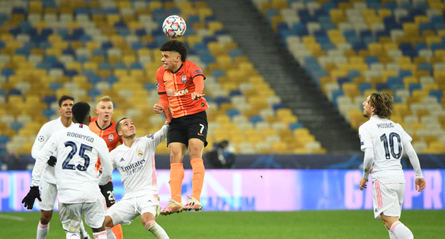 laga Real Madrid vs Shakhtar Donetsk
