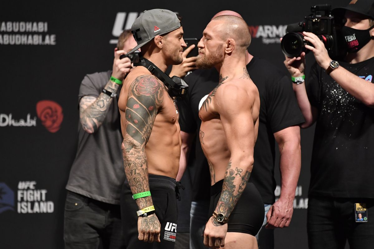 Conor McGregor dan Dustin Poirier