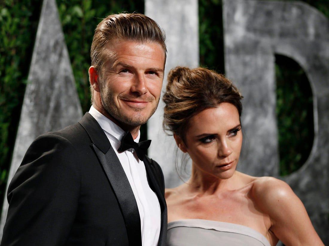 David Beckham dan Victoria