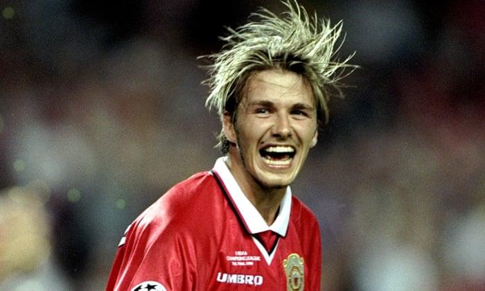 David Beckham di MU