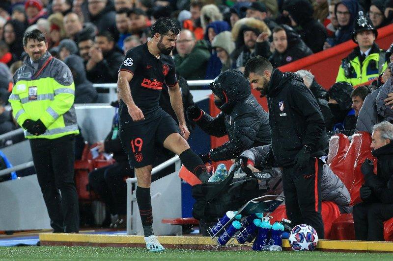 Diego Costa tinggalkan Atletico Madrid