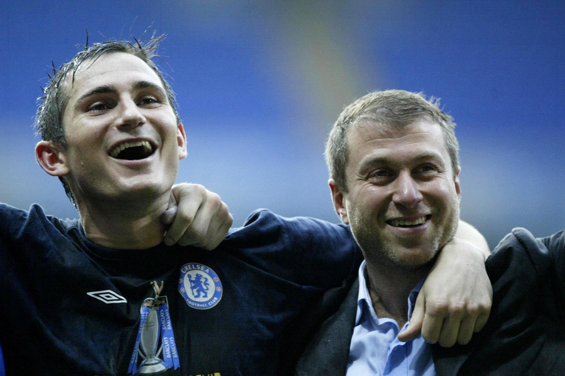 Frank Lampard dan Roman Abramovich