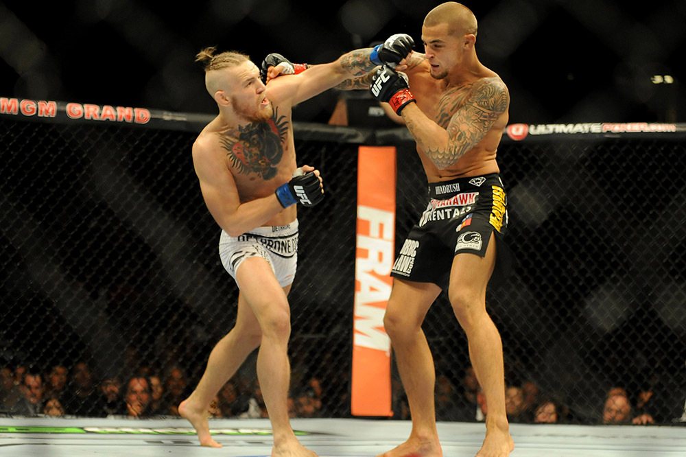 Conor McGregor vs Dustin Poirier