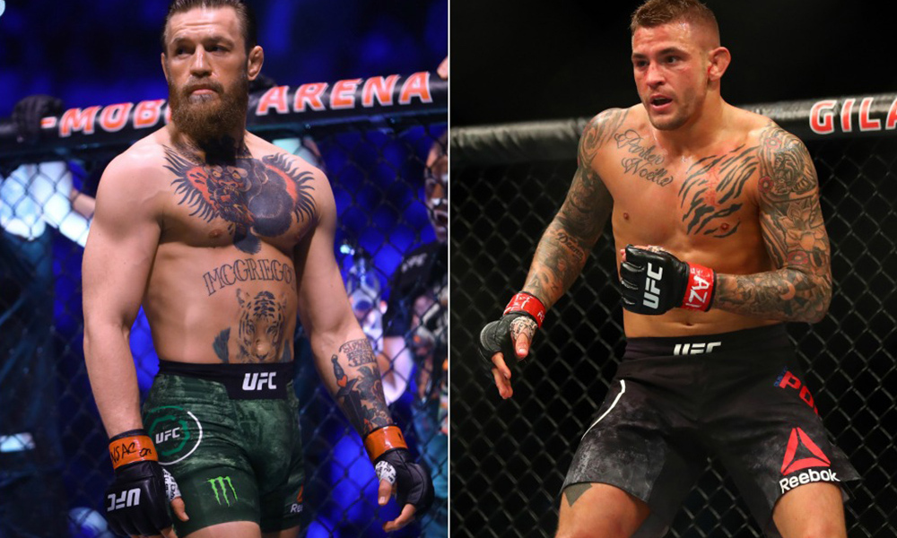 jadwal Conor McGregor vs Dustin Poirier