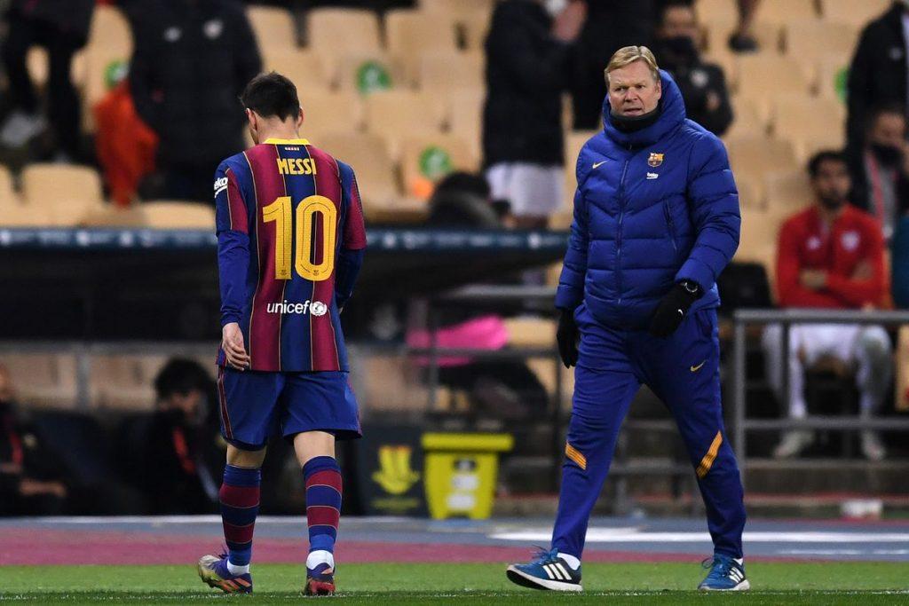 kartu merah Lionel Messi