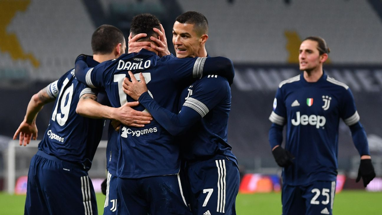 kemenangan Juventus melawan Sassuolo