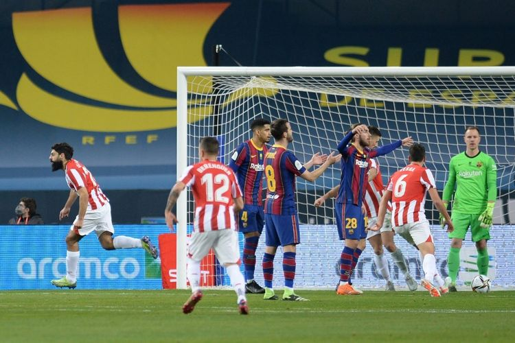 laga Barcelona vs Athletic Bilbao