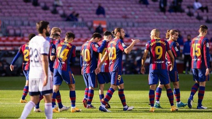 laga Barcelona vs Real Sociedad