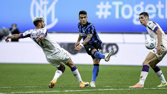 laga Inter Milan vs Fiorentina