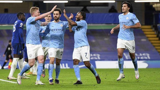 laga Manchester City vs Brighton