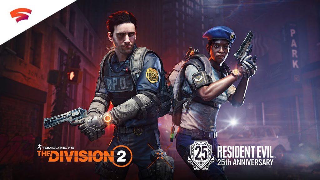 resident evil 8 x division 2