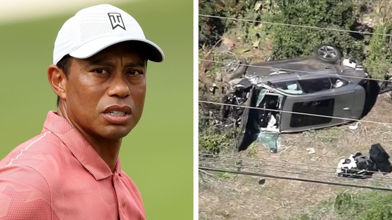kecelakaan Tiger Woods