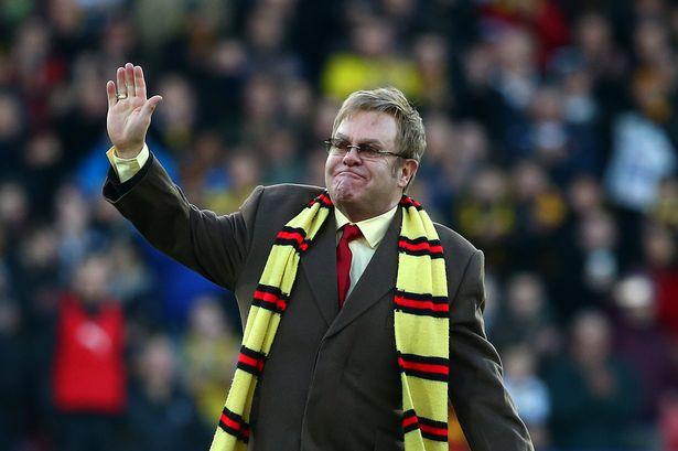 Elton John – Watford