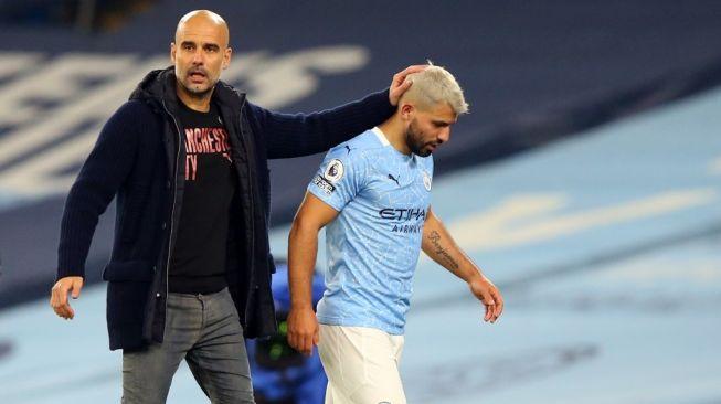 Sergio Aguero berpisah dari Manchester City