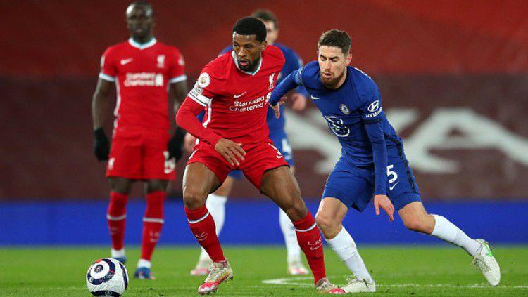 laga Liverpool vs Chelsea