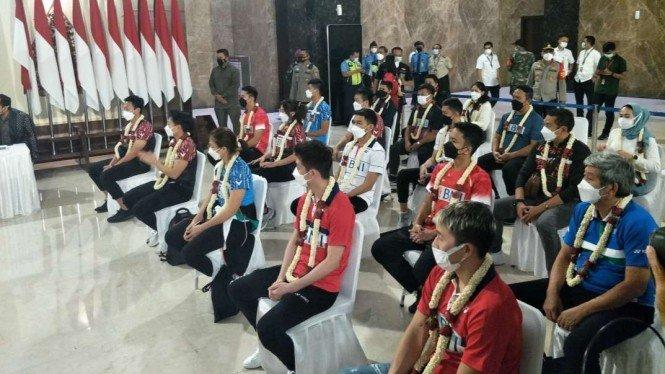 tim bulu tangkis Indonesia laporkan BWF
