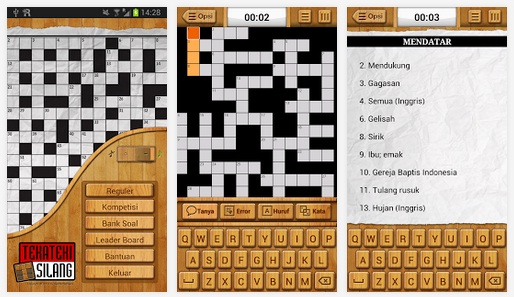 game Teka Teki Silang