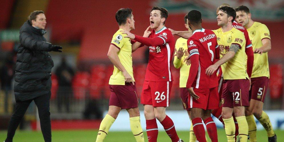 laga Liverpool vs Burnley