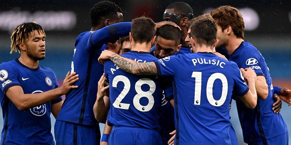 laga Manchester City vs Chelsea