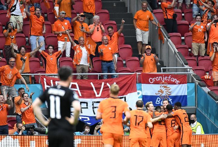 Belanda vs Austria di Euro 2020