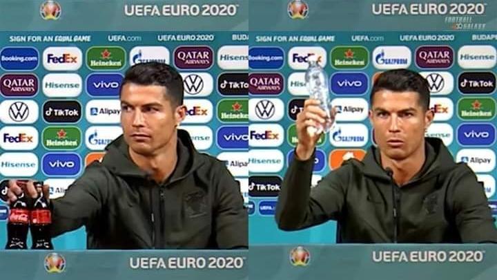 Cristiano Ronaldo dan Coca Cola
