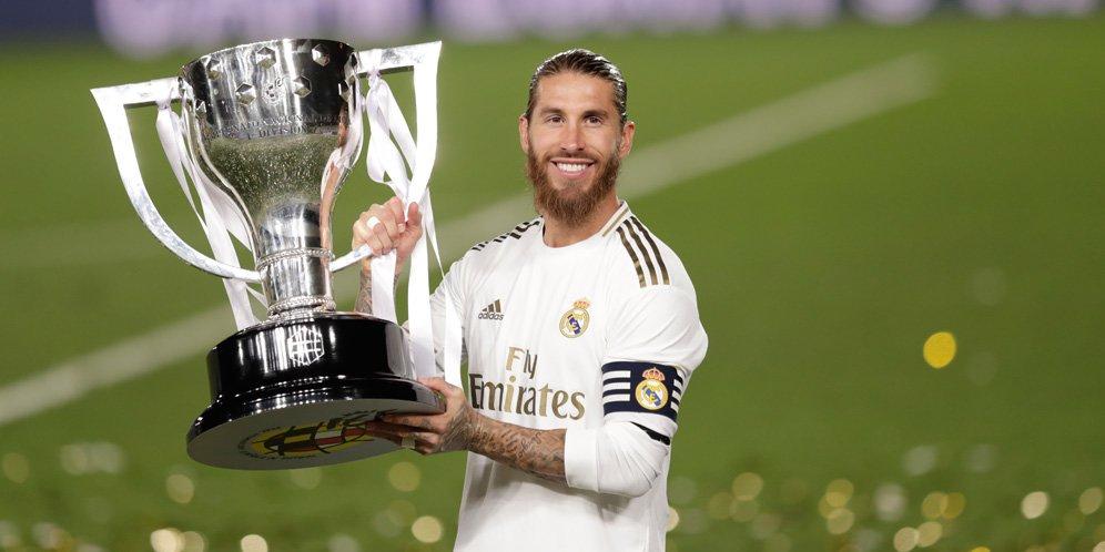 Sergio Ramos tinggalkan Real Madrid