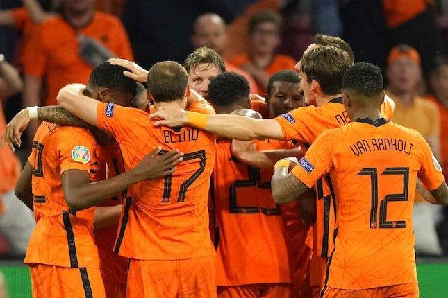 laga Belanda vs Austria