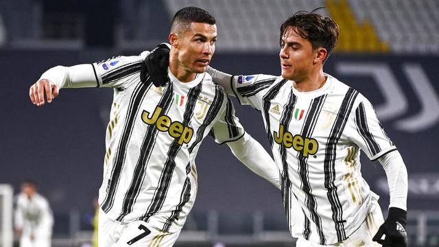 Cristiano Ronaldo dan Mauro Icardi