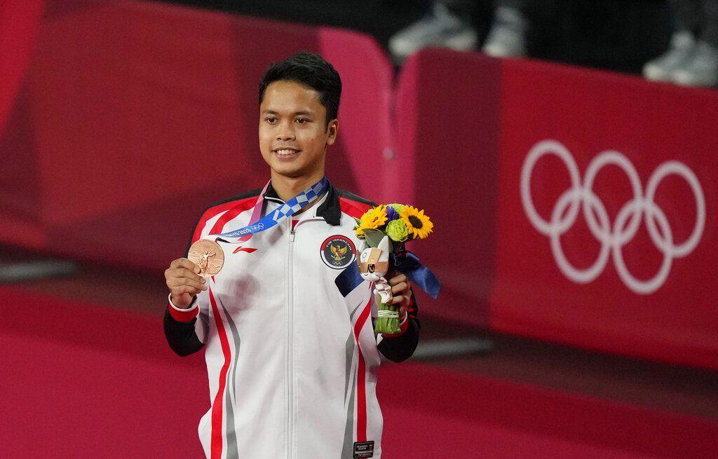 Anthony Ginting raih medali perunggu