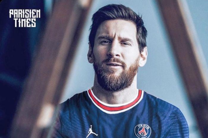 Lionel Messi resmi ke PSG