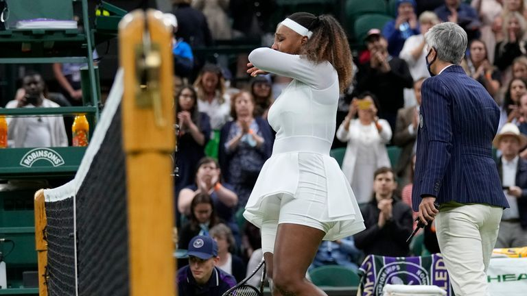 Serena Williams cedera