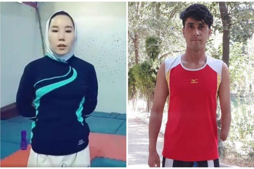 nasib atlet afghanistan